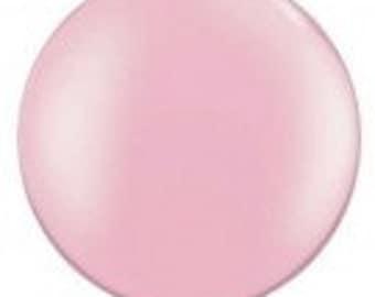Giant Light Pink Balloon, Jumbo 3FT Balloon, Jumbo 90cm Balloons, Party Balloons, Kid's Party, Baby Shower, Wedding Decor, Bridal Shower