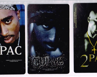 Tupac Sticker 3 Pack