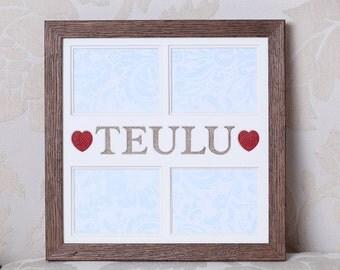 Ffrâm Cymraeg Teulu (Welsh 'Family' frame)