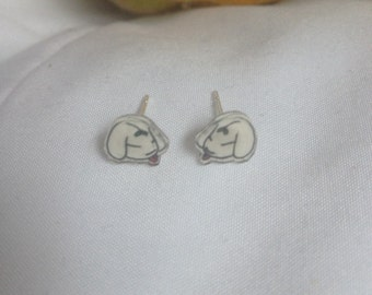 Pup Sprout earrings
