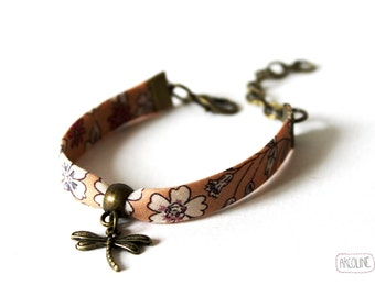 Bracelet liberty dragonfly