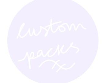 Custom KPOP Decoration Kits