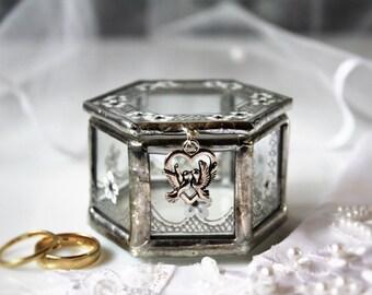 Geometric ring box Etsy