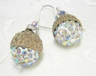 Bollywood style earrings, kashmiri turquoise and silver, bohemian style earrings, boho style earrings turquoise silver, India style earrings