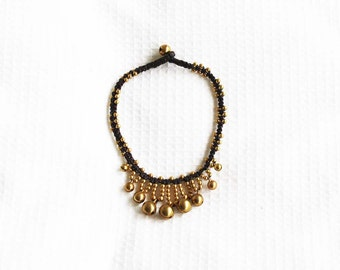 Intricate bell anklet