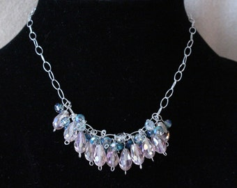 Hanging Crystal Necklace