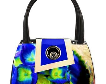 Royal Hydrangea Classic Handbag