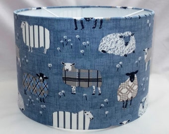 Handmade Lampshade - Sheep