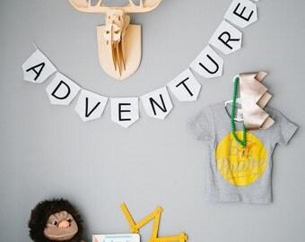Mini Adventure bunting