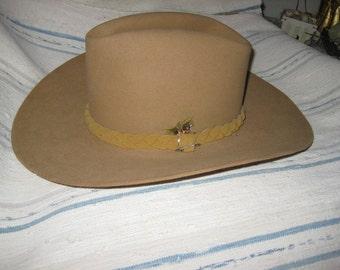 VintageJohn B. Stetson XXXX Beaver Cowboy Hat