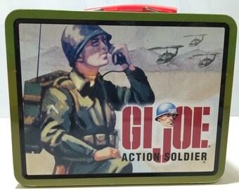 GI Joe metal lunch box