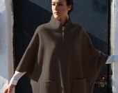 Cape coat, Pdf Sewing Pattern for Women. SEWING PATTERNS DESIGNS