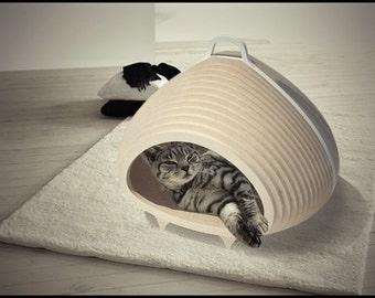 CAT-A-COMBE (new model), cat cave, cat house