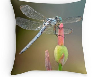 Dragonfly Pillow Cover