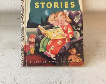 Bedtime Stories ~ A Little Golden Book ~ 1942, 20th Edition (T) ~ 2