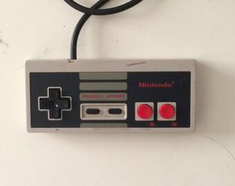 Original Nintendo NES video game control