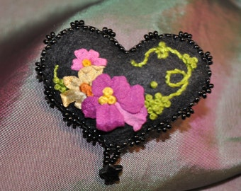 Embellished Whimsy Pin
