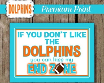 The Dolphins - Choose Your Size - 5x7 Print or 8x10 Print
