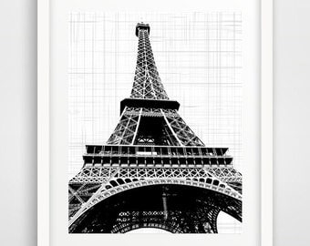 Paris Print, Paris wall print, Eiffel Tower Print, Paris Art Print, Eiffel Tower Art, Paris Print Poster, French Architecture