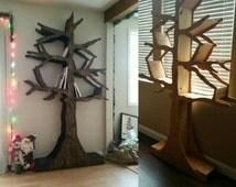 Popular items for wine rack on etsy for Tree of life bookshelf