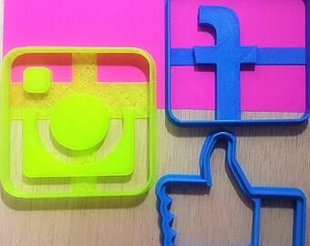 Social media - Cookie cutter