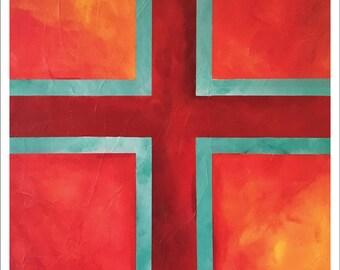 "Painting – 11""x14"" – MEDITATION 3"