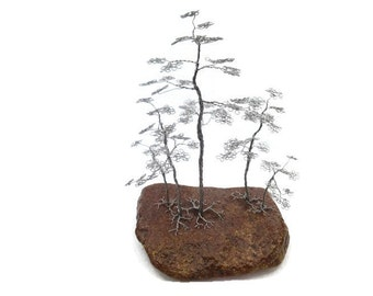 Wire Bonsai Tree Groups