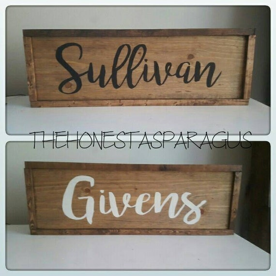 Last Name Sign, Family Name Sign, Family Sign, Wedding Sign, Established Sign, Rustic Name Sign, Rustic Last Name Sign