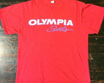 Vintage 1990's Olympia Sports T-Shirt Men's M