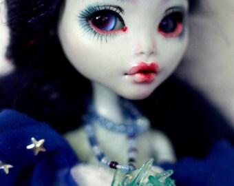 OOAK Lagoona Blue Monster High doll repaint custom