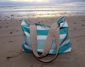 Get Your Butt to The Beach Bag with inside pocket