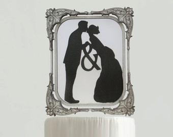 Vintage Victorian Wedding Topper - #5 - 6 in. Wide
