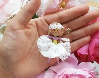 Tiny fairy (8cm tall)