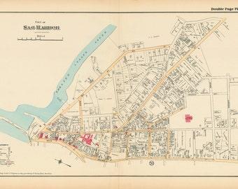 Sag Harbor Map 1916