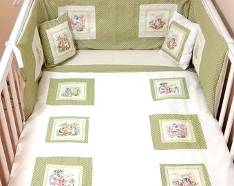 Beatrix potter/ Peter rabbit nursery set.