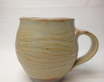 Large Handmade Ceramic Mug, Coffee Mug 22 OZ
