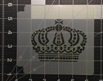 Crown Stencil 100