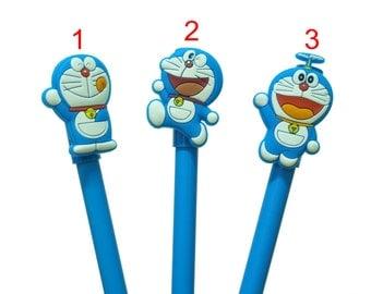 Doraemon Pen, Cute pen, back to school,personalized pen, Scrapbooking supplies, Japanese Pen, Doraemon Pencils, Anime Doraemon stationary