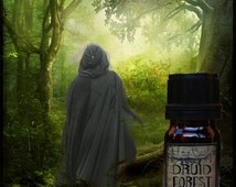 DRUID FOREST (Oakmoss, Tobacco Flower, Bay Leaves, Amyris, Heliotrope, Cedar) Perfume Oil, Cologne Oil, Ritual Oil
