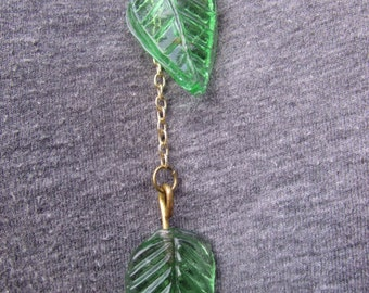 Adjustable Chain Leaf Necklace