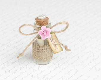 Will you be My Bridesmaid, Bridesmaid Invitations, Message in a Bottle, Ask Bridesmaids, Maid of Honor Proposal, Flower Girl Proposal