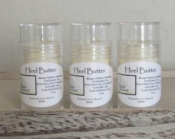 Heel Butter, All Natural, Lotion Bar, 1 oz push tube, FREE SHIPPING