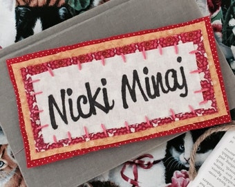 Handmade Nicki Minaj Patch