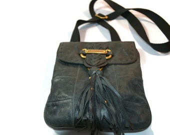 Juicy Couture,  Soft  Leather Bag, Faded Denim, Supple Leather, Satchel, Genuine Leather