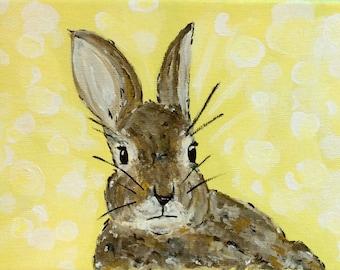 Original Rabbit Painting