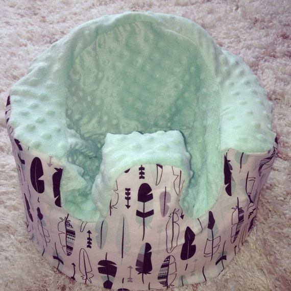 Mint Feather Bumbo Seat Covers By LittleDeerHandmadeCo On Etsy