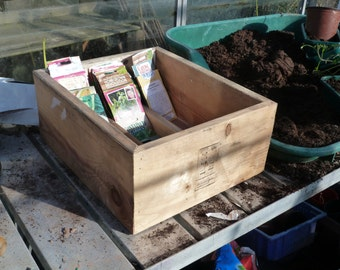 Wooden Seed Box