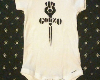Hunter S. Thompson Gonzo baby Onesie