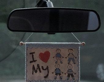 I love my children . Car accessories.