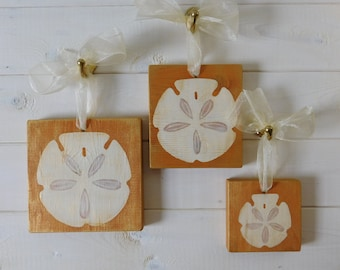 Gilded Sand Dollar Wall Decor